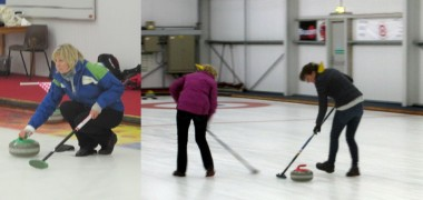 Dragon Class goes Curling