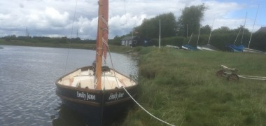 Cruise to Fenn Creek in a Drascombe Lugger.