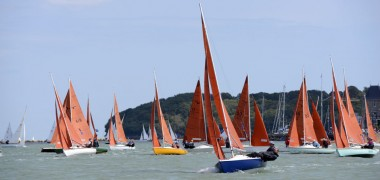 Lady P wins Cowes Week overall for 2nd year running!
