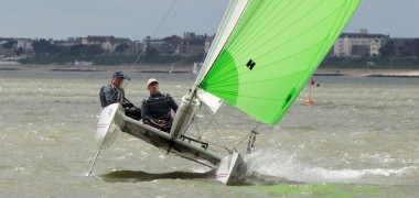 Neil Connelly wins again in his Hurricane 5.9 Catamaran