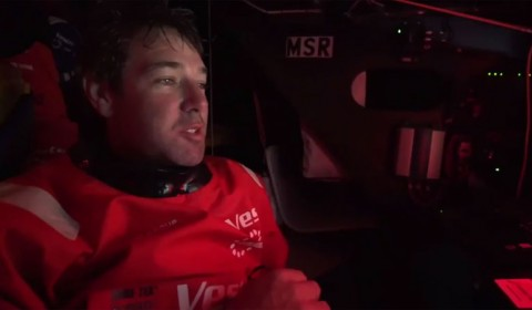Simon Fisher makes fifth appearance in Volvo Ocean Race