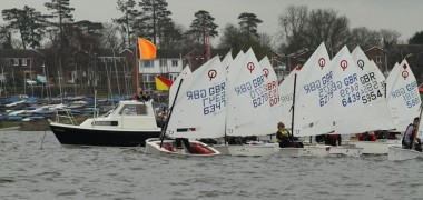 Otters Triumph at Optimist National Easter Egg
