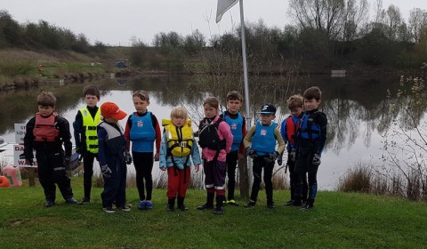 First Sail for the new Otter Pond Group