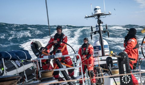 Simon Fisher and the Volvo Ocean Race