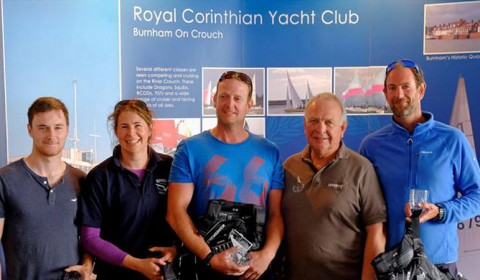 RCYC wins British Keelboat League Qualifier Two