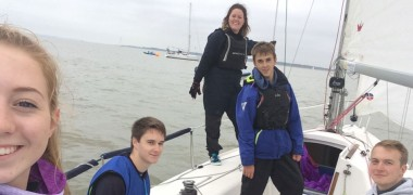 Otters at the Under 25s Keelboat League Championship