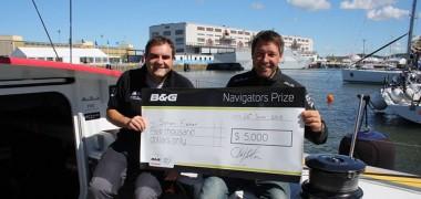 Simon Fisher wins the B&G Navigators' Navigator Prize