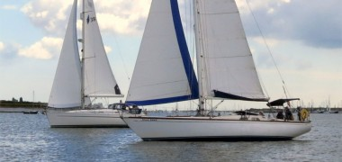 The Eagling Trophy – big boats at low water