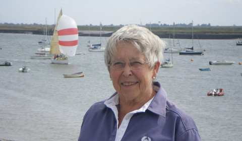 Wendy Eagling – first Lady Commodore of the RCYC
